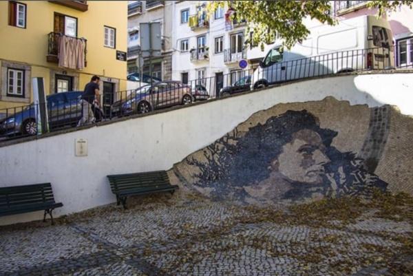 Lisboa Árabe, Tuk Away, Mural