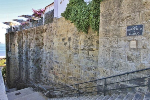 Lisboa Romana, Muralha
